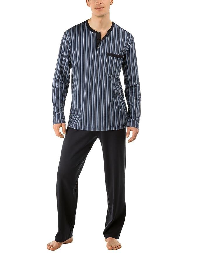 Calida Pyjama-Easy Life-Pijama de Dos Piezas Hombre, Grau (Shark Grey 984) 2XL: Amazon.es: Ropa y accesorios