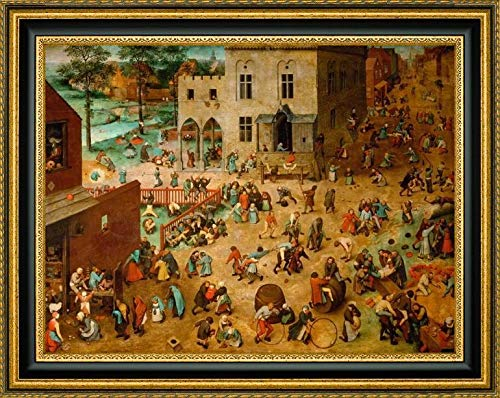 - Children's Games by Pieter Bruegel The Elder - 37.25