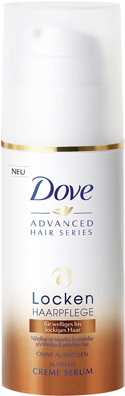 3 x Dove Advanced Hair Series/ Cream Serum/ Locken Haarpflege/ Für Welliges Bis Lockiges Haar/ Ohne Ausspülen/ je 100ml