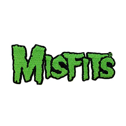 Amazoncom Misfits Famous Monsters Green Band Logo Punk Rock