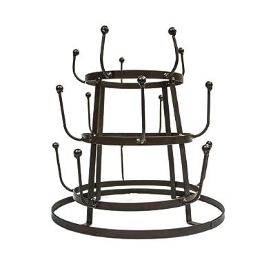 Sorbus Mug Holder Tree Organizer/Drying Rack Stand (Bronze)