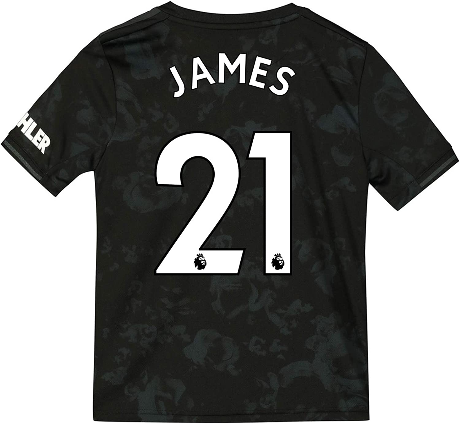 manchester united fc official gift boys james 21 third kit shirt 7 8 years amazon co uk clothing manchester united fc official football gift boys third kit shirt 2019 20