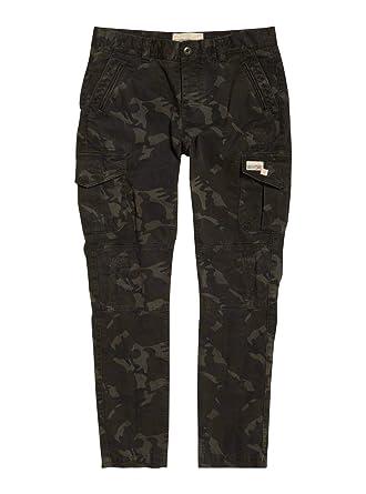 super populaire c5d21 e19ef Superdry Pantalon Cargo Camouflage Femme: Amazon.fr ...