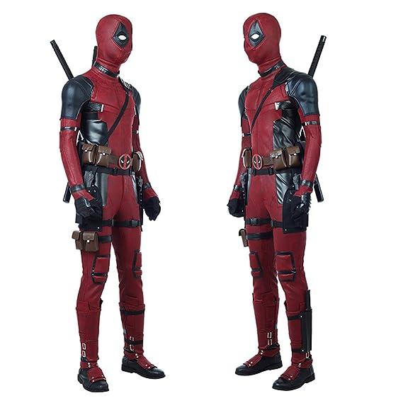 BLL Deadpool 2 Wade ·Wilson Mono de Cuero Cosplay, Disfraz ...