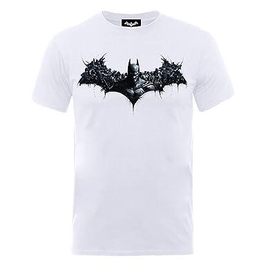 New Recommend Discount Mens Batman Arkham Origins Shield T-Shirt DC Comics Perfect Online Drop Shipping Discount Original I56WEEPx