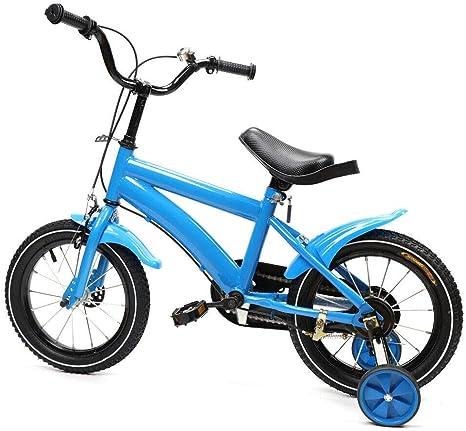 sujrtuj - Bicicleta infantil unisex con ruedas de repuesto de 14 ...