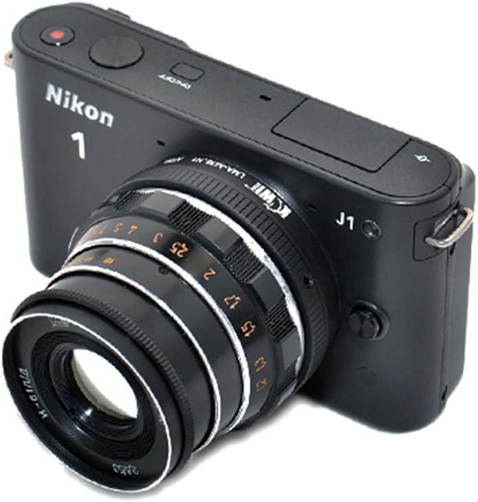KIWIFOTOS LMA-M39/_N1 Leica M39 LTM L39 Lens to Nikon 1 Mount V1 S1 Camera Adapter