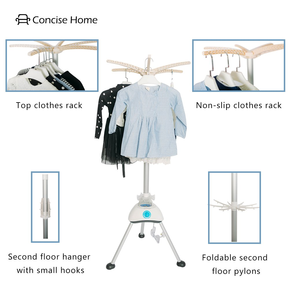 Concise Home Portable Electric Clothes Dryer Dorms Hot Air Old Fashioned Fuse Box Machine Stand Rack With Cover Kitchen