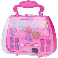 TOYMYTOY Caja de maquillaje Princess Pretend Traveling Makeup
