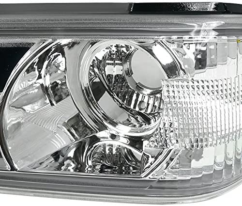 Spec-D Tuning 2LC-COL04-TM Colorado Canyon Chrome Clear Front Bumper Corner Parking Lights