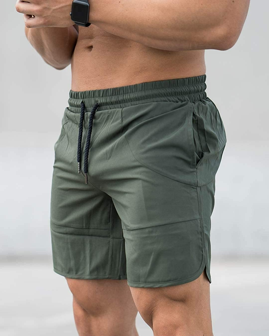 Männer Kurze Hose Laufen Kurze Hose Sommer Fest Dünn Übergrößen Sportlich