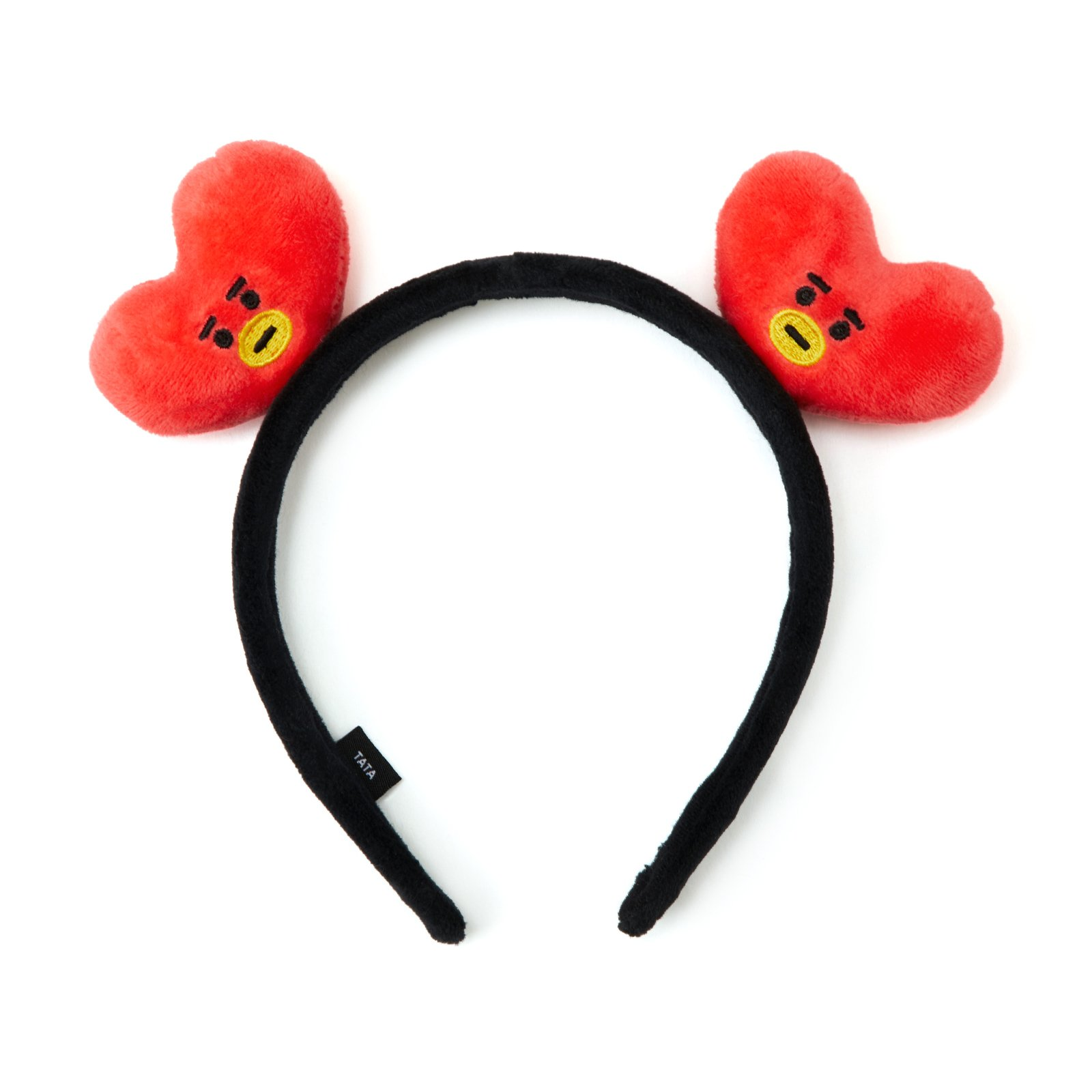 BT21 Tata Hair Band One Size Red_Black