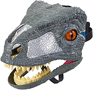 Jurassic World Chomp 'N Roar Velociraptor Blue Mask