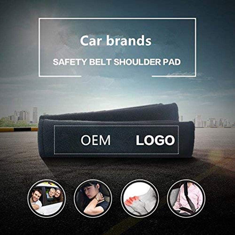 YYD Cintur/ón de Seguridad para el autom/óvil Almohadillas para el Hombro Cubiertas de la Correa Coj/ín,Nissan