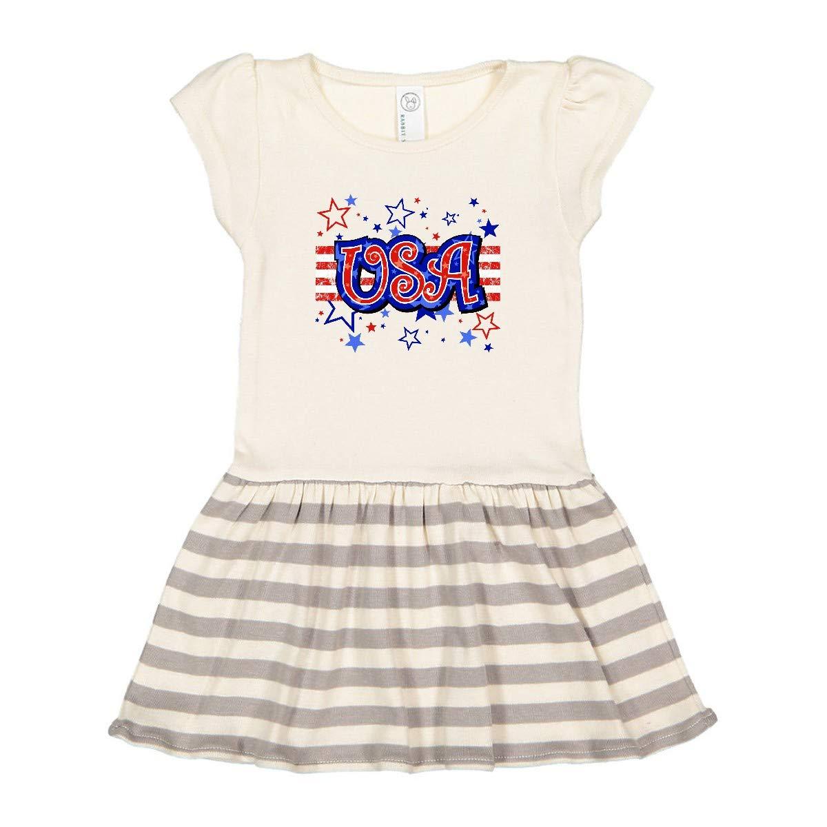 inktastic USA Toddler Dress
