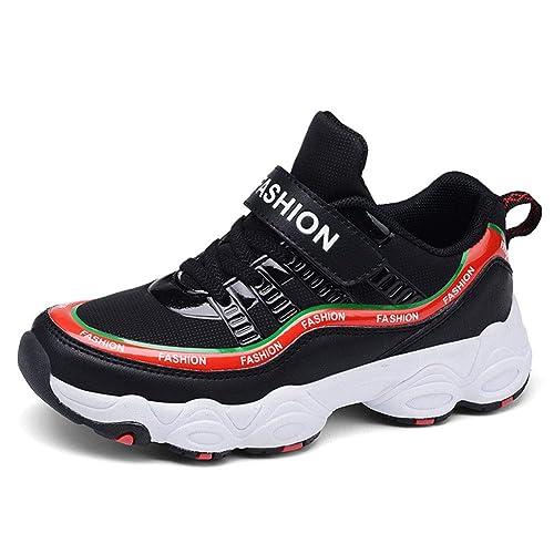 Yi Buy Unisex-niños Zapatillas de Deporte Niñas Zapatos para Correr Trainers para Niño Cuatro Colores 29-38 EU.: Amazon.es: Zapatos y complementos
