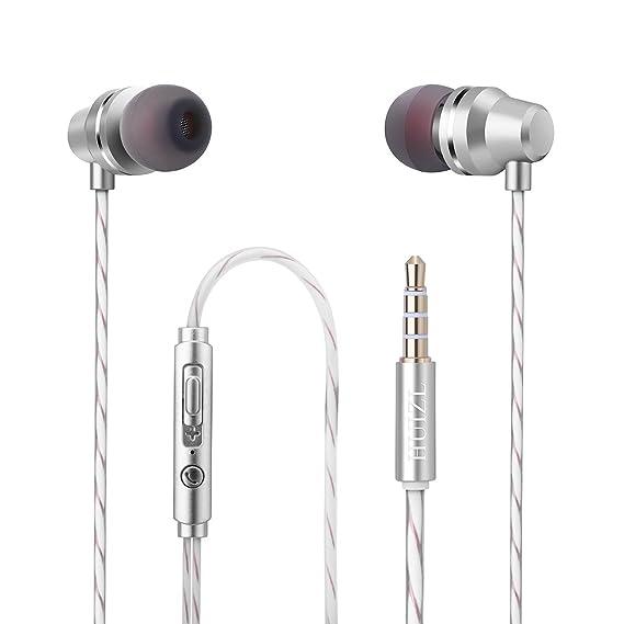 Amazon.com: Earphones Earbuds In ear Headphones Wired earphone ...