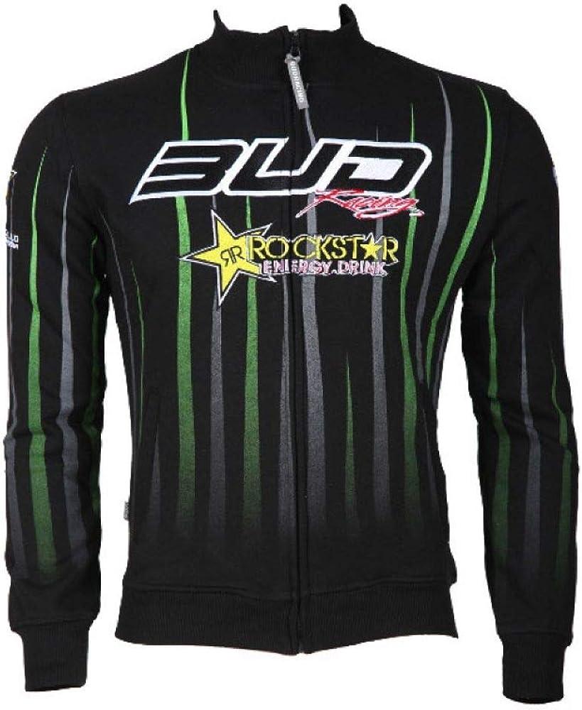 BUD RACING Sweat a Capuche Logo Sponsor