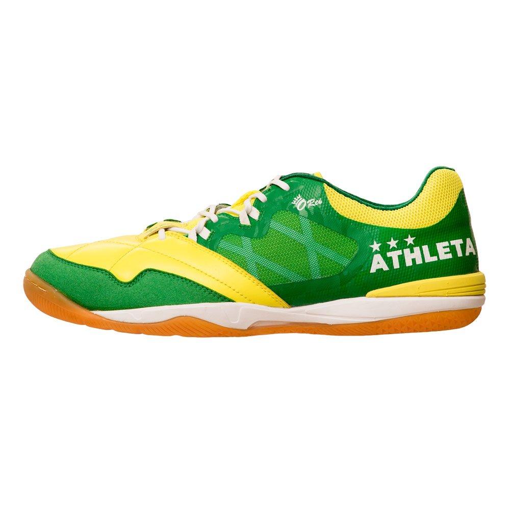 ATHLETA(アスレタ)フットサルシューズ O-Rei Futsal Falcao ファルカン インドア 人工芝 11008 B07B8MCDSP 27|FYEL×KGRN FYEL×KGRN 27