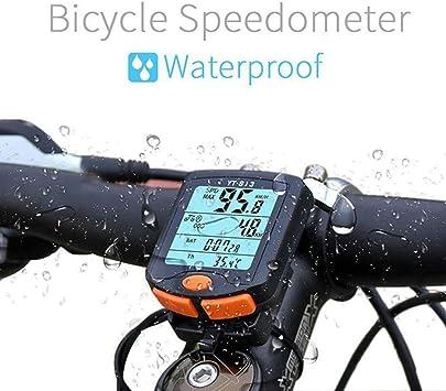 QHJ | – Cuentakilómetros para Bicicleta/Bicicleta Ciclocomputador ...