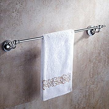 Hlluya Toallero El Brass única Palanca única Capa toallero de baño Toalla de extensión en el baño,50cm: Amazon.es: Hogar