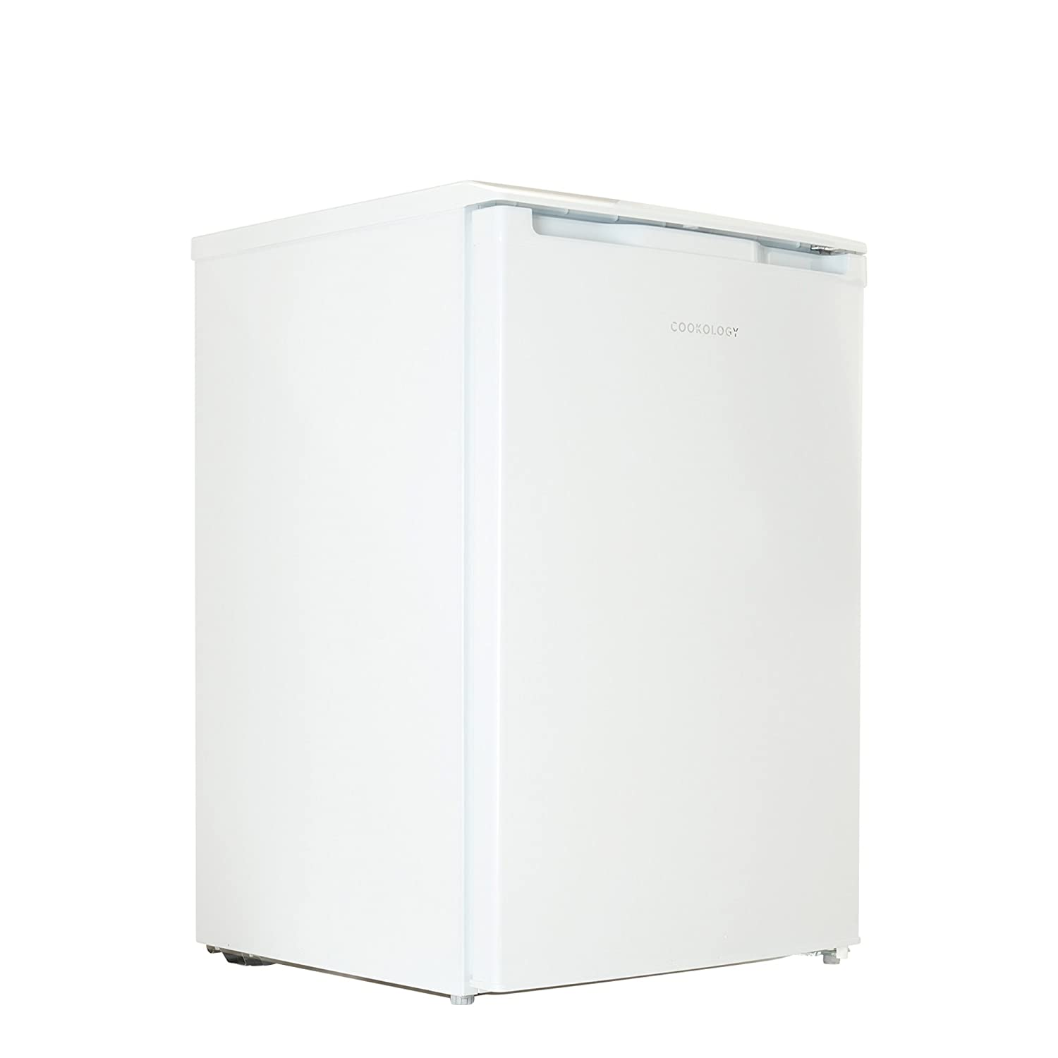 Cookology UCFR130WH 55cm Freestanding Undercounter Larder Fridge in White [Energy Class A+]