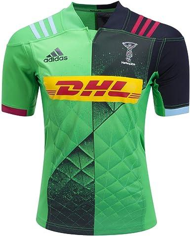 plato Leyes y regulaciones Arco iris  Amazon.com: adidas Harlequins Away Rugby Jersey: Clothing