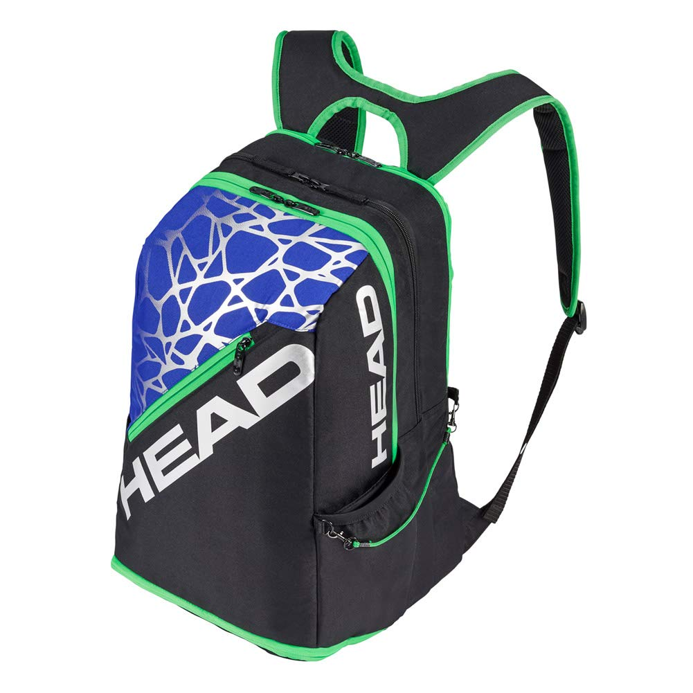 HEAD Racquetball Backpack - Racket Bag w/Multiple Compartments & Adjustable Shoulder Straps