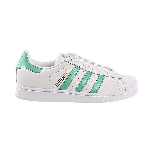 adidas superstar mens green