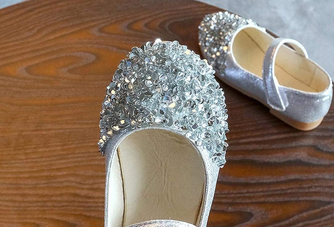 Kinder Kleinkind Baby M/ädchen Kristall Leder Einzelne Schuhe Partei Prinzessin Schuhe Huhu833 Baby Schuhe