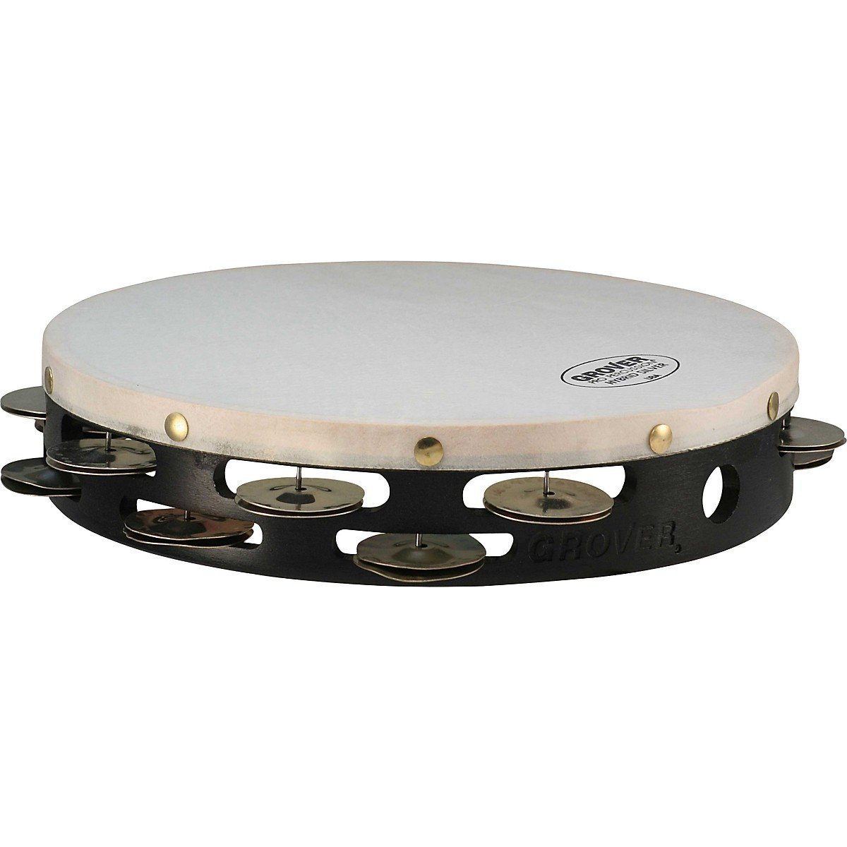 Grover Pro T2/HS Hybrid Double-Row 10'' Tambourine 10 in.