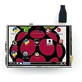 Waveshare Raspberry Pi LCD Display Module 3.5inch 320*480 TFT Resistive Touch Screen Panel SPI Interface for Rapsberry-pi Model B/B+/2 B/3 B