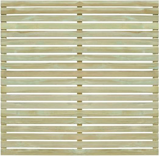 Festnight- Panel de Valla de Jardín de Madera 180x180 cm: Amazon.es: Hogar