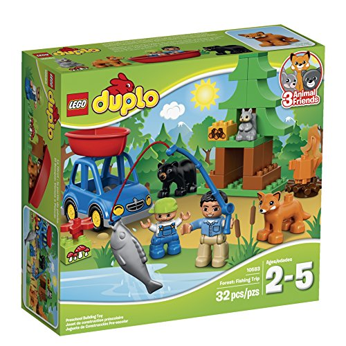 DUPLO LEGO Town Forest: Fishing Trip