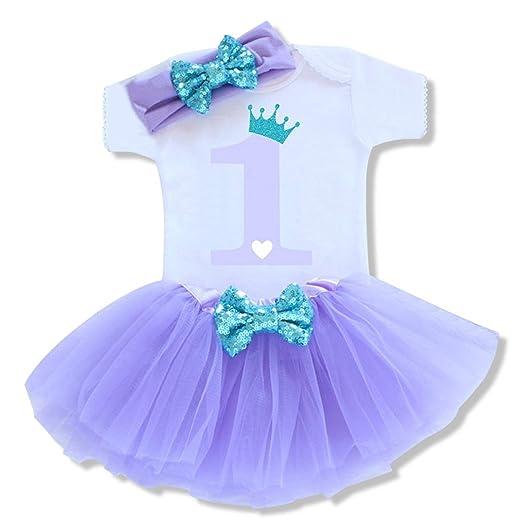 Conjunto de cumpleaños para bebé de 6 Meses, 1 2 años, Traje ...