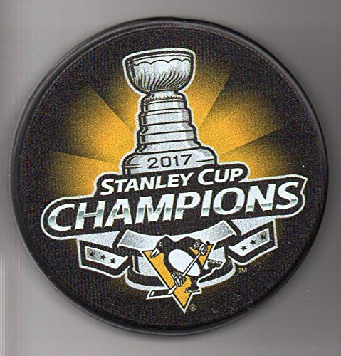 Pittsburgh Penguins 2017 Stanley Cup Champions Official NHL Puck + FREE Puck - Stanley Cup 1991