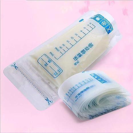 DDHJHFHF 20 Piezas 250 ml Bolsas de congelador de Leche ...