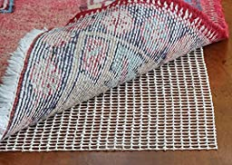 RUG PAD 8x10 ft - Non slip 8 x 10 Foot Area Rug Pads for Wood Floor, Tile etc.- Protect Hardwood Floors And Add Cushion To Hard Surfaces With This 8\'x10\' Anti-Slip Under Rug Gripper.