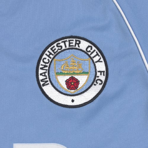 Score Draw Official Retro Herren Trikot Manchester City 1982