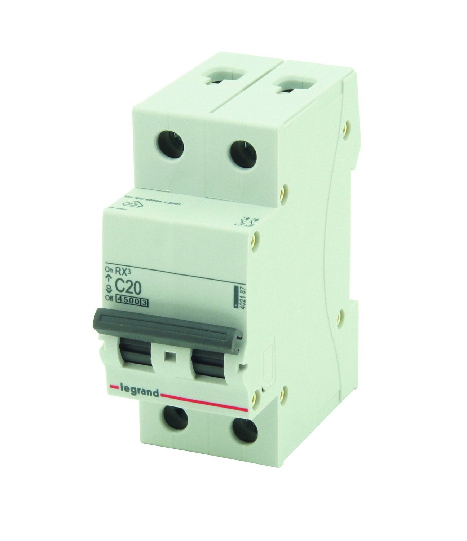 Legrand 790402187 - Disyuntor RX3 2P 4500 A C20 Eltra N.V.