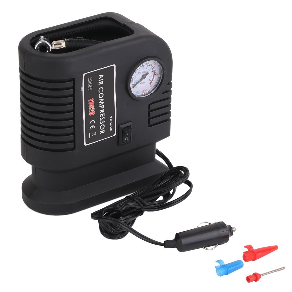 Belovedkai 150PSI Tire Inflator Electric Auto Tire Inflator 12v DC Portable Auto Air Compressor Pump 3 Adapter Electric Inflatable Inflating Pump for Car, Truck, Bicycle