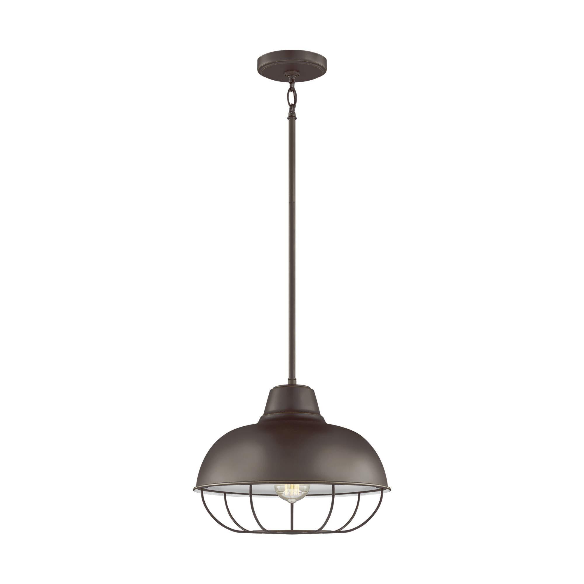 Sea Gull Lighting 6746501EN3-782 One Light Pendant Heirloom Bronze