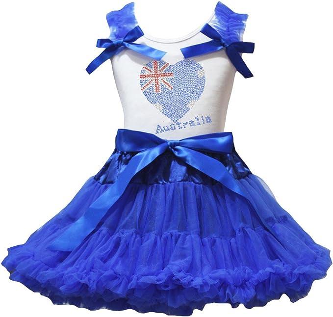 Petitebella 1st Birthday Dress White Shirt Red White Dot Skirt Outfit Set 1-8y