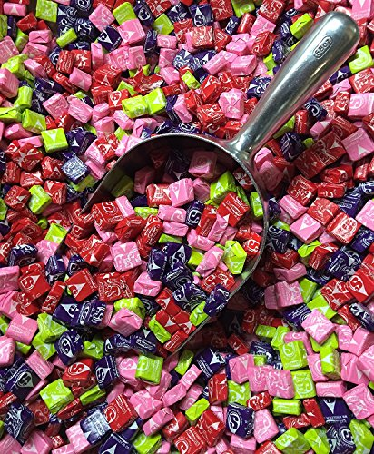 New Sweet and Sour Starburst - 3 Lb Bulk Bag Wholesale (Silver Jelly Beans)
