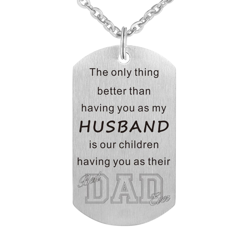 Freedom Love Gift The Only Thing Better Than Having You As My Husband Necklace Jewelry Gift