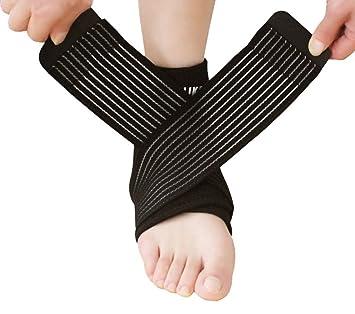 Compresión de Tobillo Brace correa de soporte estabilizador de pie para  fascitis plantar 1ddc1823c0aa5