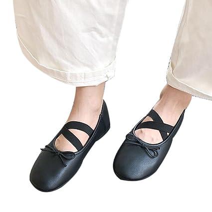 Amazon.com : Sikye Women Ladies Soft Ballet Yoga Shoes Dance ...