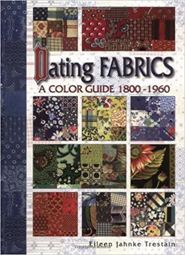 Dating Fabrics - A Color Guide - 1800-1960: Eileen Trestain ... on 1960s sewing machines, 1960s books, 1960s lighting, 1960s dining room, 1960s vintage fabric, 1960s wall decor,