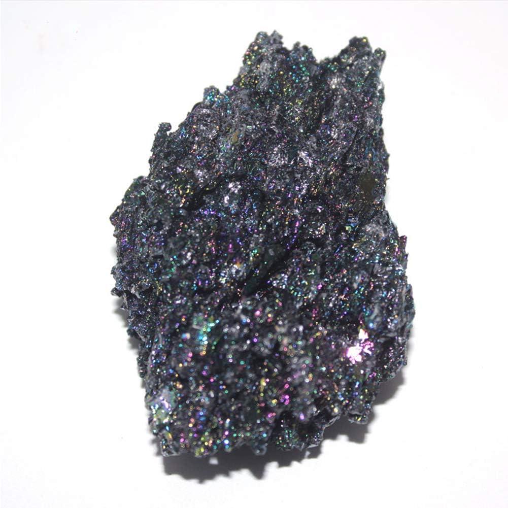 Regalo di Raccolta di Campioni Grezzi Chimici Colorati in Carburo di Silicio SZPP Cristallo Minerale Naturale