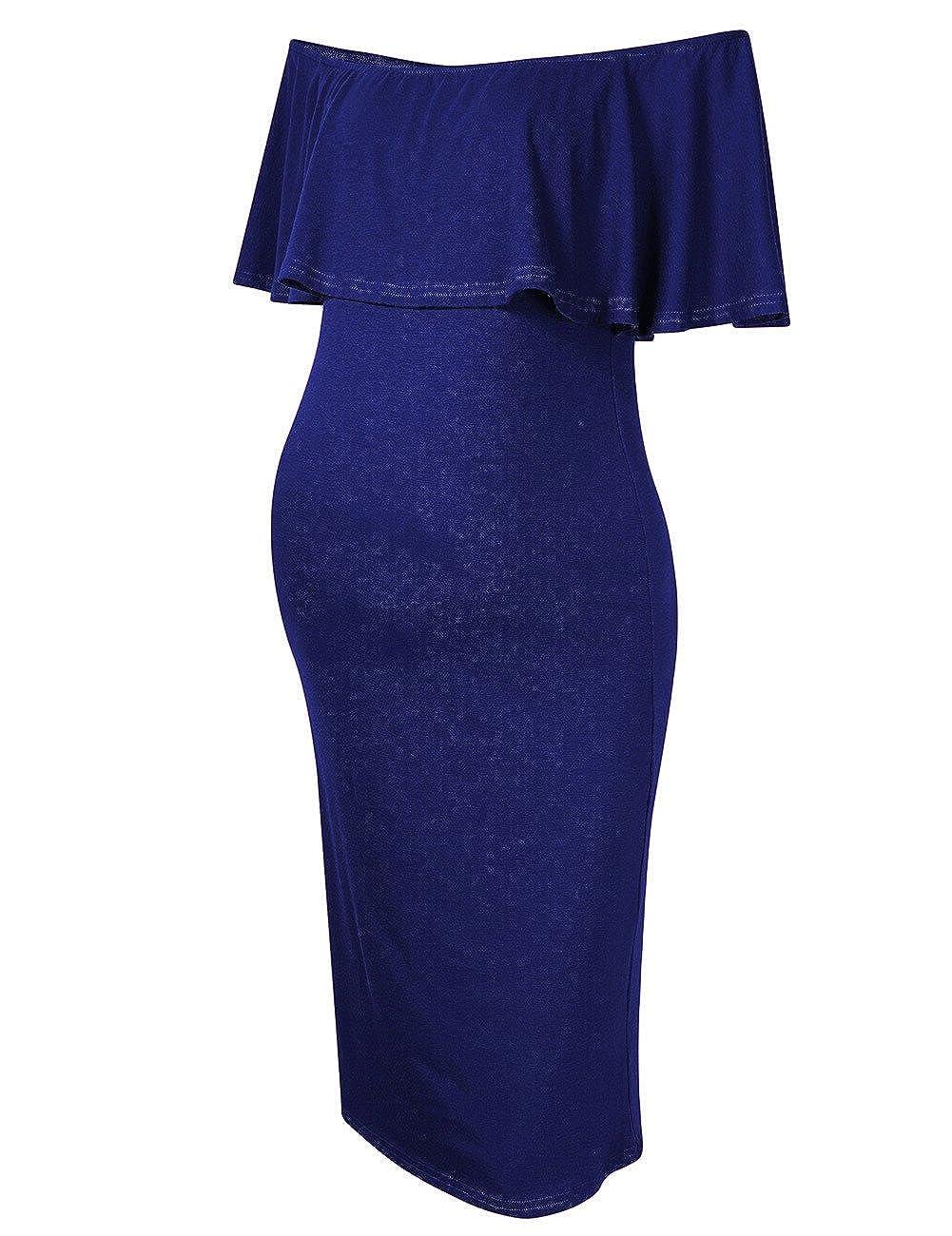 MissQee DRESS レディース B078RFGC68 X-Large|ネイビーブルー ネイビーブルー X-Large